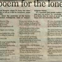 A Poem for the Lonely, P.J. Furey.jpg